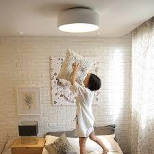 simple 14 1 diameter 3 light modern flush mount ceiling light