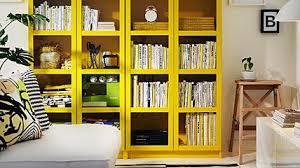 ikea billy sonderedition in gelb und grün living at home