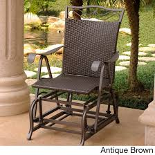 Details About Dark Brown Resin Wicker & Frame Glider Chair Outdoor Rocking  Gliding Porch Seat Intertional Caravan Valencia Resin Wicker Steel Frame Double Glider Chair Details About 2seat Sling Tan Bench Swing Outdoor Patio Porch Rocker Loveseat Jackson Gliders Settees The Amish Craftsmen Guild Ii Oakland Living Lakeville Cast Alinum With Cushion Fniture Cool For Your Ideas Patio Crosley Metal And Home Winston Or Giantex Textilene And Stable For Backyardbeside Poollawn Lounge Garden Rocking Luxcraft Poly 4 Classic High Back