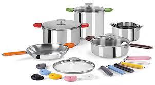 batterie de cuisine cristel batterie de cuisine en acier cristel cuisinerie