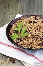 riz collé aux pois rouges riz national