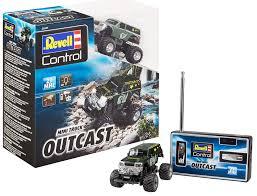 100 Mini Rc Truck Amazoncom Revell 23507 RC Outcast Multi Colour Toys