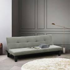 schlafsofa sofabett klappsofa 2 sitzer stoff onicefarbe grau material fabric höhe cm 70 breite cm 80 zusammensetzung mikrofaßer