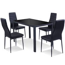 5 Pieces Metal Frame And Glass Tabletop Dining Set Mcnamara Retro Modern Ding Table Eur Style Fniture The Right Design Price Jesup Outlet Sariden Chrome Finish Rectangular W4 Farmhouse Rustic Room Birch Lane Ali Chair Tables Chairs Keenerschultz Formal Vs Functional Living Rooms Fall From Favor But Get Hooker Wayfair Shades Of Grey Featured Rooms Inspiration Roanoke Va Reids Fine Furnishings
