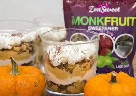 Pumpkin Pie Mousse Parfait by Pumpkin Pie Mousse Trifle The Zensweet Life
