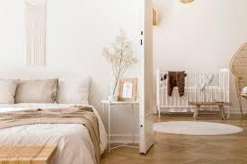 schlafzimmer mit babyzimmer idee raumgestaltung im