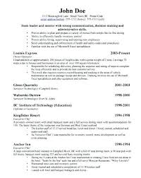Sample Resume For Former Entrepreneurs Business Owners Manager Career Change Example