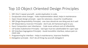 Decorator Pattern Java 8 by 10 Object Oriented Design Principles Java Programmer Should Know