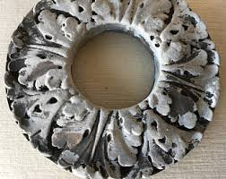 Two Piece Ceiling Medallions Cheap by Ceiling Decoration Etsy