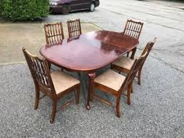 Dining Table And 6 Vintage Chairs For Sale In Norfolk VA