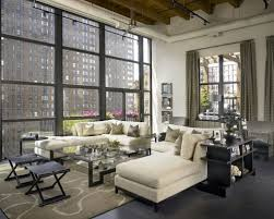 Industrial Chic Living Room Ideas & s