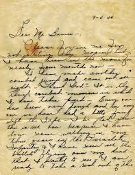Letter From World War 2