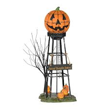 Lemax Halloween Village Displays by Amazon Com Department 56 Halloween Water Tower Home U0026 Kitchen