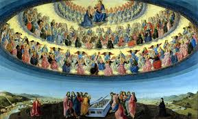 The Assumption Of Virgin By Francesco Botticini 15th Century Wikimedia Commons