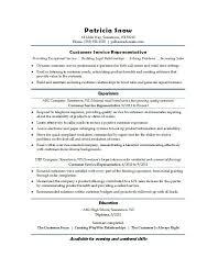 Customer Service Representative Resume Sample