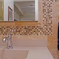 Brown Mosaic Bathroom Mirror by Photos Hgtv