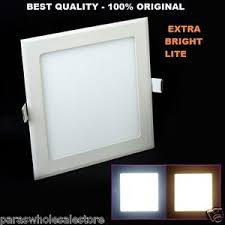 18 watt led square ceiling pop false ceiling panel light roof 1