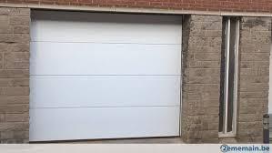 porte sectionnelle sur mesure porte sectionnelle sur mesure motorisée placée 1357 tvac a