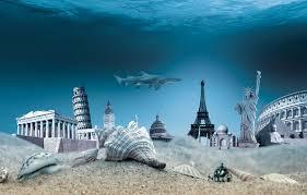 Photo Wallpaper Underwater Seashells Shell The Bottom Sea Travel Ocean