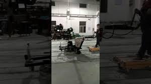 Hardwood Floor Polisher Machine by Auto Floor Polishing Machine And Floor Grinder Youtube