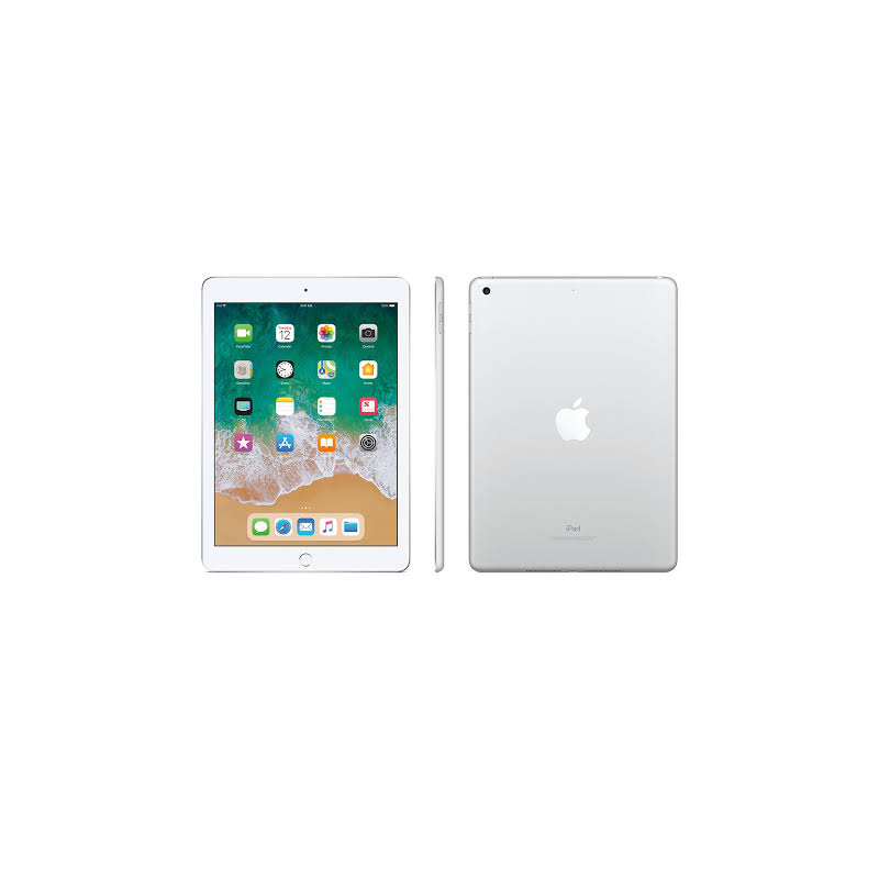 Apple iPad (Wi-Fi, 128GB) - Silver (Previous Model)