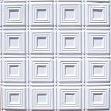 Cheapest Ceiling Tiles 2x4 by Amazon Com Ceiling Tiles Glue Up 6x6 Pattern Aa204 White Matte