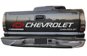 100 Chevy 454 Ss Truck Amazoncom Silverado Bed Decal Chevrolet Lettering Window