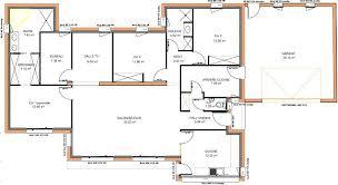 plan maison plain pied 6 chambres plan de maison plain pied moderne plan maison 6 chambres plain