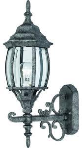 antique silver outdoor patio porch exterior light fixture