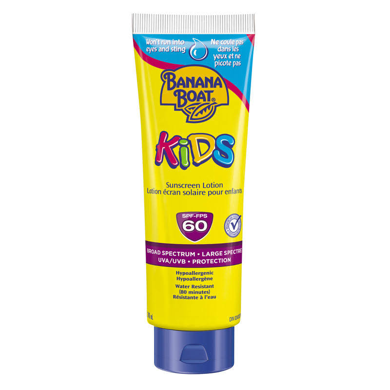Banana Boat Kids' Tear Free Sunscreen Lotion - SPF 60, 240ml