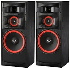 pair set cerwin vega xls 15 15 3 way floorstanding tower speakers
