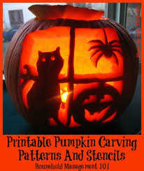 Easy Pumpkin Trace Patterns by Printable Pumpkin Carving Patterns And Stencils You Can Use