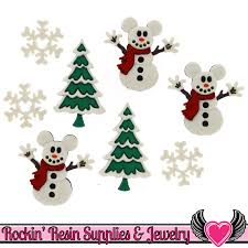 Plutos Christmas Tree Ornament by Novelty Sewing Buttons Featuring Brands Like Dress It Up By Jesse