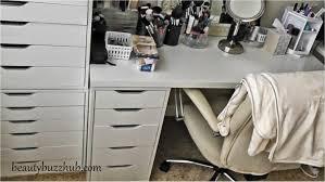 Desk Drawer Organizer Ikea by Ikea Alex Makeup Storage Organization U2013 Nazarm Com