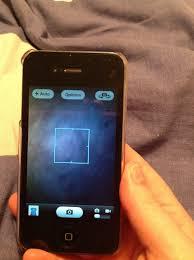 iPhone 4 camera blurry Help