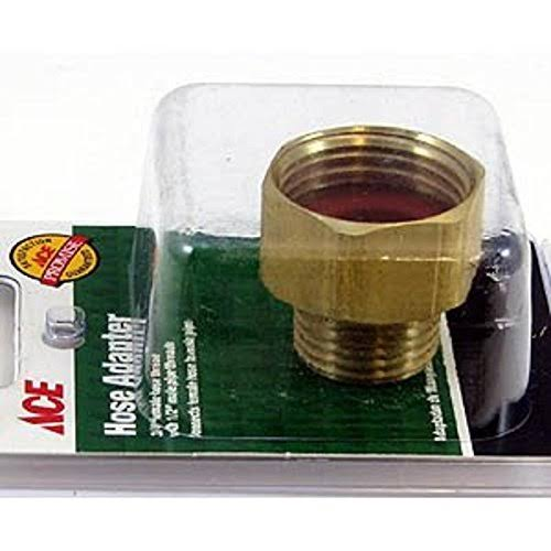 "Ace Hose Repair and Parts Hose Adapter - 3/4"" x 1/2"""