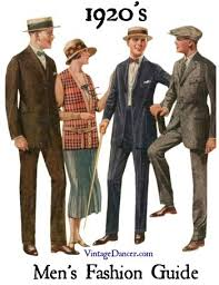 Early 1920s Mens Suits Fashion