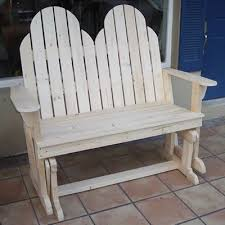 plans for an adirondack loveseat glider rocker