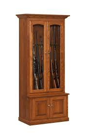 free wood gun cabinet plans easy diy woodworking projects step