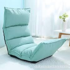 canap bleu clair canapé paresseux chaise lit pliable ajustable salon en de lire
