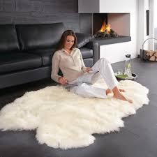 lammfell teppich 160 x 100 cm groß und sogar