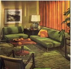 A 1951 Livingroom Forecasts The 70s Vintage Home Decor 1950s