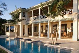 British West Indies Residence Tropical Pool