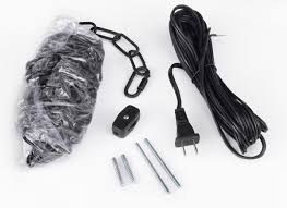 Plug In Swag Lamp Kit by B16 Swag Kit Gallery Chandeliers Black Swag Plug In Hanging Kit
