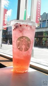 A Starbucks Barista Created This Drink For Customer Who Was Hesitating Between Strawberry Lemonade And Black Tea If You Are One Of Those People