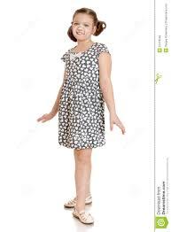 beautiful teen in short summer dress stock photo image