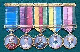 King Edward V11 Chair by Edward Vii 1902 1910 Royalty Historical Memorabilia