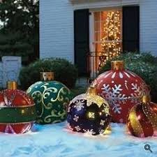 Outdoor Christmas Decorations Ideas To Make by Learn How To Make These Giant Christmas Ornaments At Home