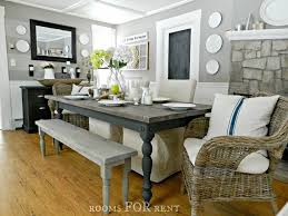 Country Kitchen Table Decorating Ideas by Dining Room Farmhouse Table Decor Idea Stunning Lovely To Dining