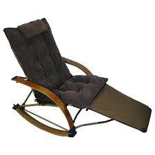Lawn Chair With Footrest by Folding Rocking Chair Camping Folding Rocker Lawn Chair Camping